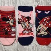 Носки Minnie Mouse 27-30 на 4-6лет Германия (лот - 1пара)