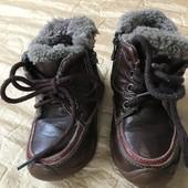 Зимові ботінки на цегейці розмір 21