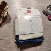 Лот из упаковки из 2 капроновых колгот для девочки! 140/146 рост! 229грн по ценнику!