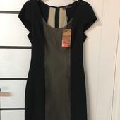 ☘ Лот 1 шт ☘ Сукня з контрастно вставкою Sarah Chole (Англія), рр. наш 46: M євро