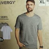 Лот 2 шт базовые мужские футболки Livergy Германия размер S (44/46)