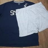 Большой размер! Мужская пижама для дома и сна Livergy размер 3XL 64/66 )