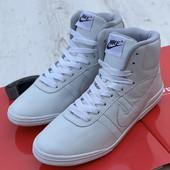 Мужские Кожаные хайтопы Nike все размеры в наличии!