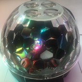 Светодиодный дискошар с рисунками Gobo ball