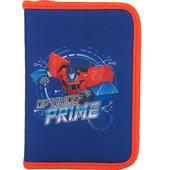 Пенал без наполнения школьный Kite Transformers TF17-622-1