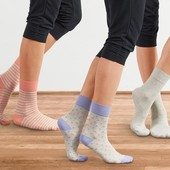 Лот 3 пары ! Качественные носки из био-хлопка (германия). размер 35-38