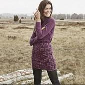 Классная, плотная юбка с узором, Esmara размер нем 44/46
