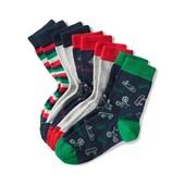 ⚙ Лот 5 пар ⚙ Для хлопчика -Якісні шкарпетки від Tchibo (Німеччина), розміри: 23-26