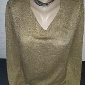 Актуальный свитер с люрексом от  Zara!