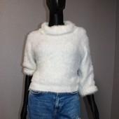 Качество! Шикарный белоснежный свитерок от шведского бренда H&M, новое состояние