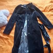 Женское велюровые пальто весна осень Riche