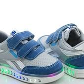 кроссовки для мальчиков W.NIKO (размеры 21-23)