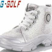 Демисезонные ботинки на девочку Jong.Golf (размер 33-34)