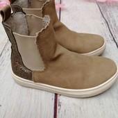 демисезонные ботинки, челси h&m