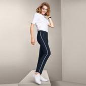 Шикарные, комфортные стрейч брюки до щиколотки Tchibo (германия) размер 36/38 евро, на наш 42/44