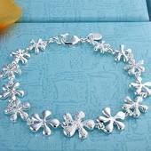 Стильные браслеты стерл серебро, пр 925длина 20