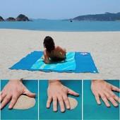Пляжный большой коврик антипесок Sand Mat раз 200 см ×150 см
