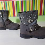 Демисезонные стильные термо ботиночки, размер 24, стелька 16 см