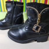 Демисезонные стильные термо ботиночки Miss Angel, размер 25, стелька 17 см