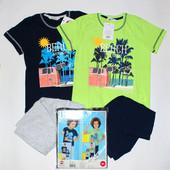 Летние яркие костюмы для мальчиков премиум качества от Roly Poly, размеры 110,116,122,128