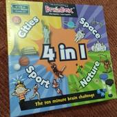 Карточная игра BrainBox, 4 темы