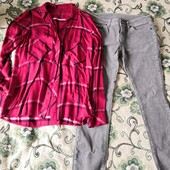 Штрукси і сорочка в клітинку, розмір М