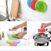 Мойдодыр!Многофункциональная силиконовая салфетка-щётка для кухни