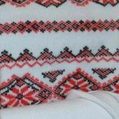 ❤новые белые колготы с орнаментом 116/122 см