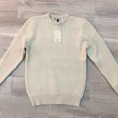 ☘ Бежевий світлий вовняний светр William (Італія), розмір L