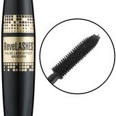 Тушь для объема ресниц Eveline cosmetics mascara ReveLashes, черная