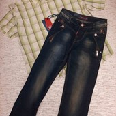 Новые джинсы + рубашка в подарок