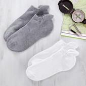 ☘ Лот 2 пари ☘ Функціональні шкарпетки для спорту і бігу від Tchibo (Німеччина), розмір: 39-42