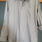 Мужская фирменная рубашка в идеальном состоянии!! Virsance!! Ворот 43 на рост 176/182