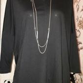 ♥️Стильная блузка с эко-кожей!ПОГ-59