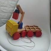 Машинка грузова деревяна ikea