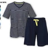 ❤️Royal Class Германия❤️отличная пижама с шортами 100%био хлопок в упаковке,можно на подарок!!XL