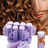 Готовимся к праздникам!Термо-бигуди с крабиками для завивки волос.6штук