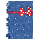 Готовим подарочки)Блокнот Kite картонная плотная обложка 80 листов А 5 Минни Маус,