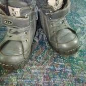 Кожаные ботинки 26р!!!