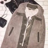 Стильная плюшевая куртка кардиган