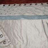 Dubelm Mill, люксовая линейка бренда Dunelm, шторки с вышивкой