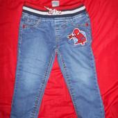 Spider-Man утепленные джинсы на флисе и резинке.рост 92.в отличном состоянии.Оригинал!
