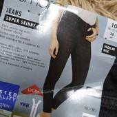 TT89.стильные джинсы syper Skinny Fit , от Esmara.