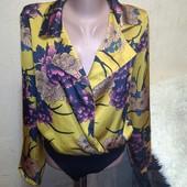 Красивая блуза боди 16 размера.