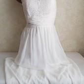 Шикарное нарядное платье !!! Размер 10