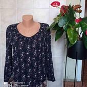 красивая блуза реглан из натуральной ткани,рр 36