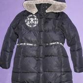 Куртка пуховик на рост 128-135см