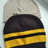 2 фирменные тонкие шапочки в новом состоянии, подросткам или мамам. oggi, bershka.
