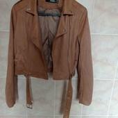 куртка косуха цвета camel