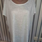 Подовжена трикотажна футболочка Boohoo, р20(Пог -67)